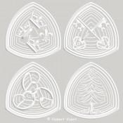 OGIVE AUX COURONNES [Ø16,5cm]