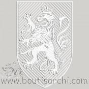 Blason au LION [25*40cm]