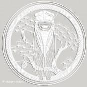 CIGALE AU PIN  [Ø≈38cm]