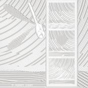 OISEAU vole…  [43*117cm]